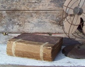 """Very old book, """"The Pictorial History of the World"""", published in 1877, leather bound, richly illustrated, on Etsy - Treasury Featured"""