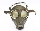 Rare WW2 German gas mask from war period