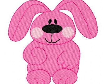 Bunny Rabbit Embroidery Design // Easter Embroidery Design // Joyful Stitches