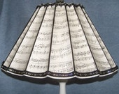 Bach inspired Lampshade