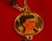 Frida Kahlo Rosary style necklace