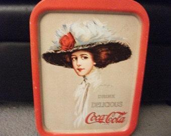 Coca-Cola Tray/Lady