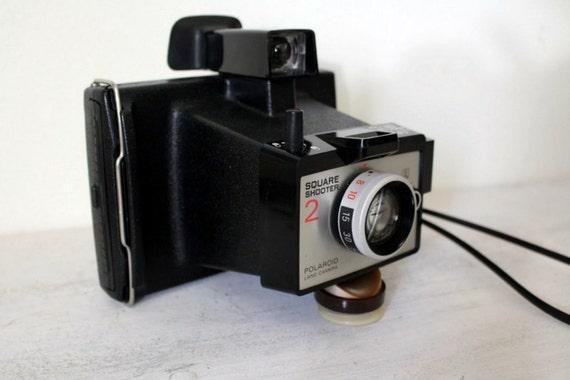 Vintage Polaroid Land Camera. Square Shooter 2.