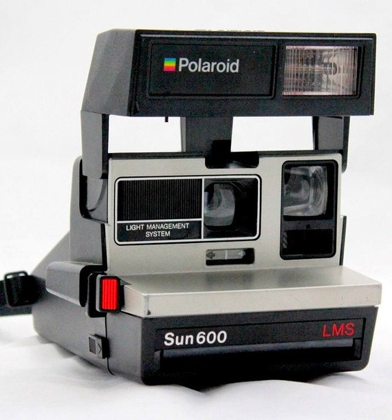 Polaroid Land Camera Vintage Sun 600 LMS