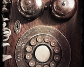 Call Me Vintage Phone Fine Art Photographic Print 8x10