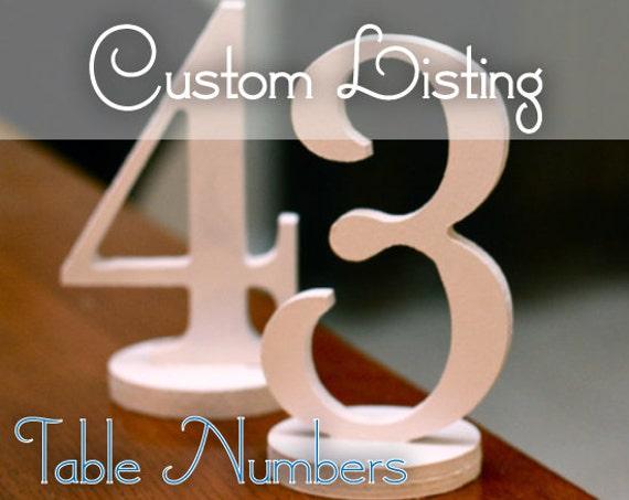 Custom Listing for Valerie