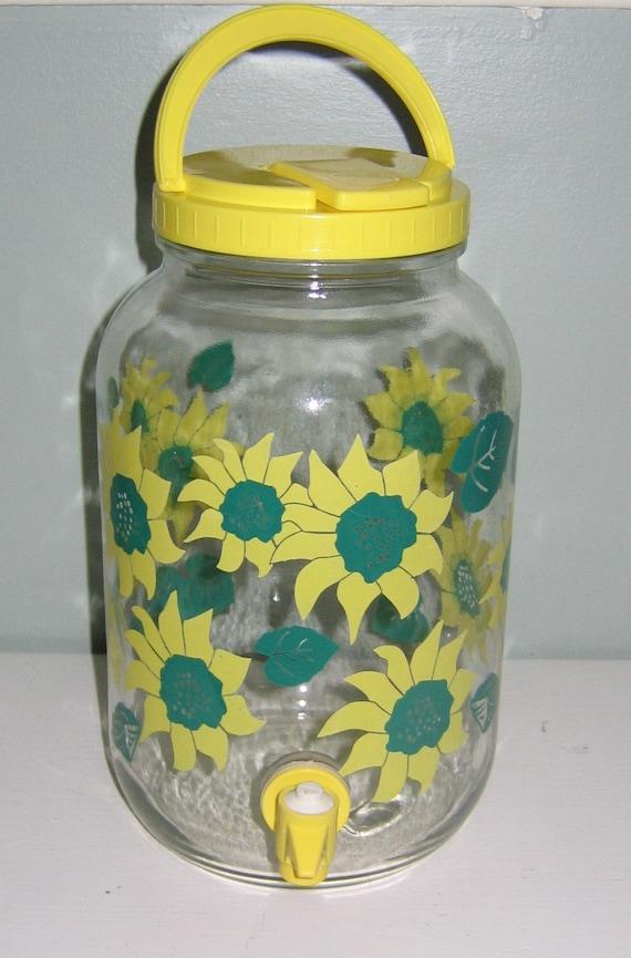 Ice Tea Jar Iced or Sun Tea Glass