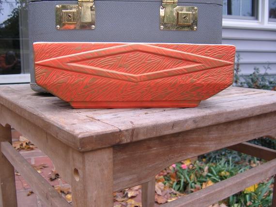 Oriental Orange McCoy Tonecraft Planter