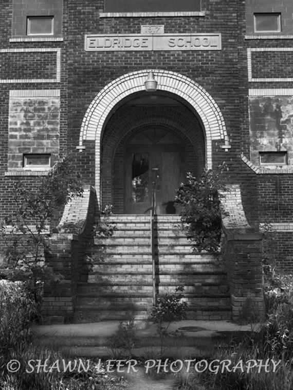 Eldridge School 1917 Eldridge North Dakota