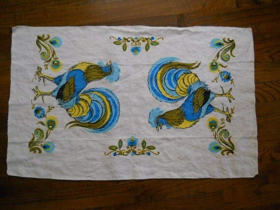 Rooster Dish Towel