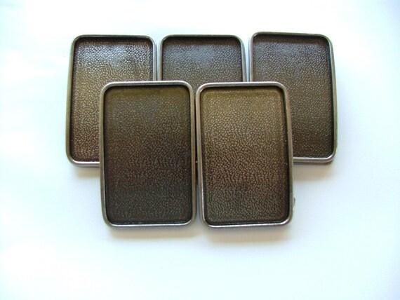 15 Belt Buckle Blanks Wholesale