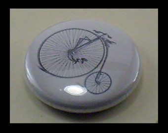 Bicycles Vintage illustration 1inch Button trio