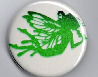 Green Fairy Absinthe 1.25 inch Button