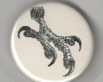 Powerful Eagle Talon Claw 1.25 inch Button