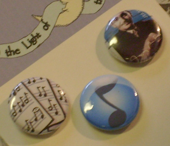 Irving Berlin 1 inch Button US Postage Stamp