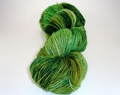 Sweet Face Green Eyes Toosties Hand Dyed Sock Yarn
