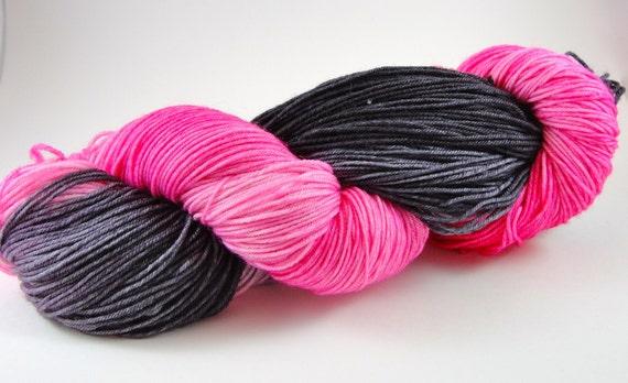 Kimber Is A Rockstar Light Sockstar Hand Dyed Sock Yarn