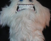 Snarling Yeti Plush Stuffed Animal