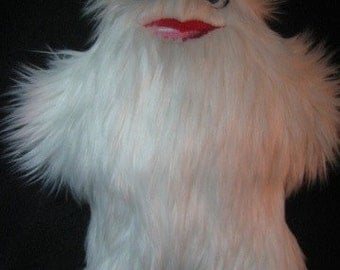 Sexy Female Yeti Plush Stuffed Animal