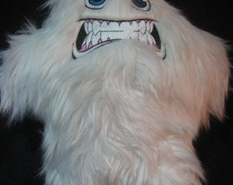 Snarling Yeti Plush Stuffed Animal