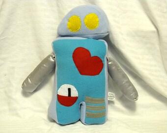 Stuffed Robot Plush toy Blue