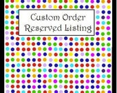 Custom Order for Briggita ship by 7/19