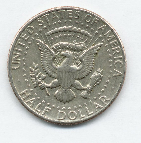 Trick Coin Kennedy Half Dollar Double Sided Both Sides Tails