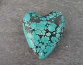 Turquoise Heart bead