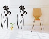 OFL577 Large--easy Instant Decoration Wall Sticker Deco-lotus