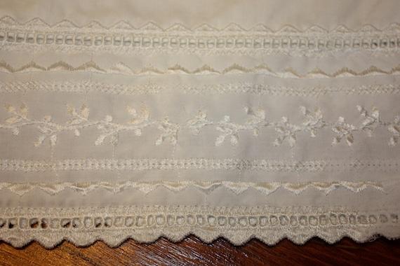 Shabby Chic White on White Pillow Cases