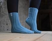 Eco Socks .Blue skies.