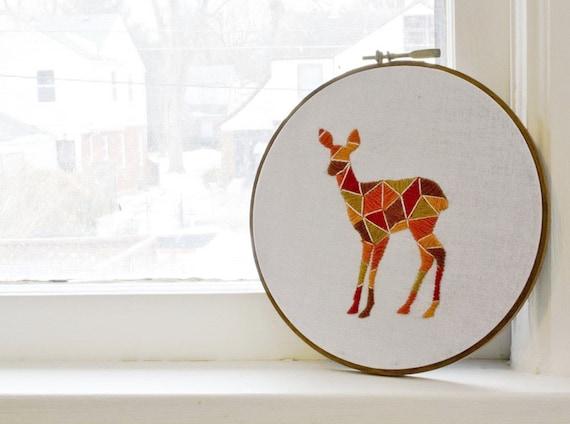 doe a dear embroidery - ON HOLD