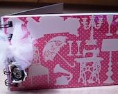 Pretty in Pink Mini Notebook