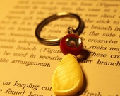 Red and Yellow Key Chain - Free Shipping -- PIF