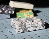 PIF - Good Things Come in Small Packages - Tiny Handmade Gift Boxes - Recycled Cards - Set of Two