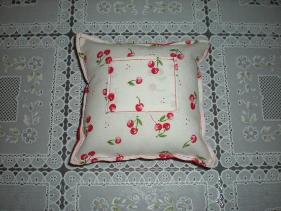 Cheery, Cherry Tooth Fairy Pillow