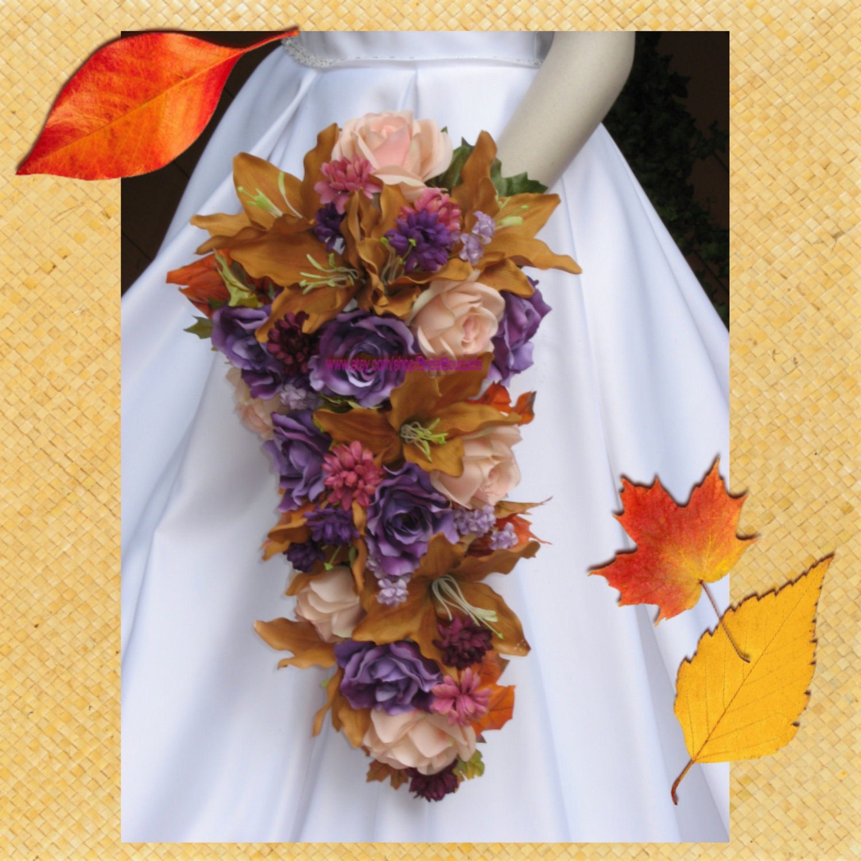 Fall Wedding Flowers List: Harvest Hues Bridal Bouquets Fall Wedding Flowers