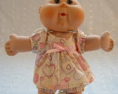 Cabbage Patch Newborn / Baby Alive Doll Clothes - Dress with Panties