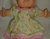 Cabbage Patch Kids / Baby Alive Doll Clothes - Dress with Panties