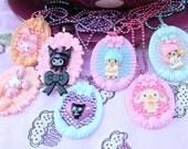 SALE Sanrio Friends Cameo Necklaces Pick One