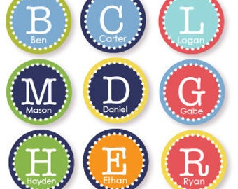 2 Inch Custom Labels You Choose Colors and Text
