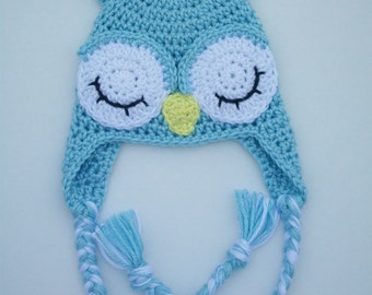 Owl Hat for newborn baby