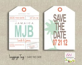 Save the Date- Luggage Tag