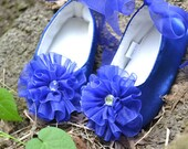 Soft sole blue party shoes Tutu skirts  ballat flats infants baby toddler girl shoes