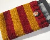Harry Potter Gryffindor Knit Sleeve   Custom Made for your E-reader Slytherin Hufflepuff Ravenclaw