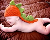 PATTERN  Dinosaur Hat With Tail Photography Prop