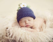 Blueberry or Strawberry Infant  Hat and Photography Prop
