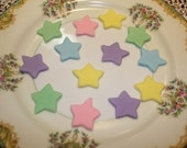 Fondant Stars- Set of 50- Perfect for Cupcakes