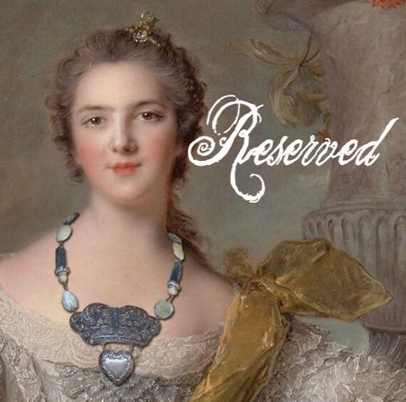 RESERVED FOR JANET....Petits Trésors - French Slide Locket