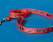 SALE Gimpy Pets Dog Leash in Pink Lemonade 4ft